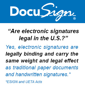 Are Electronic Signature Legal